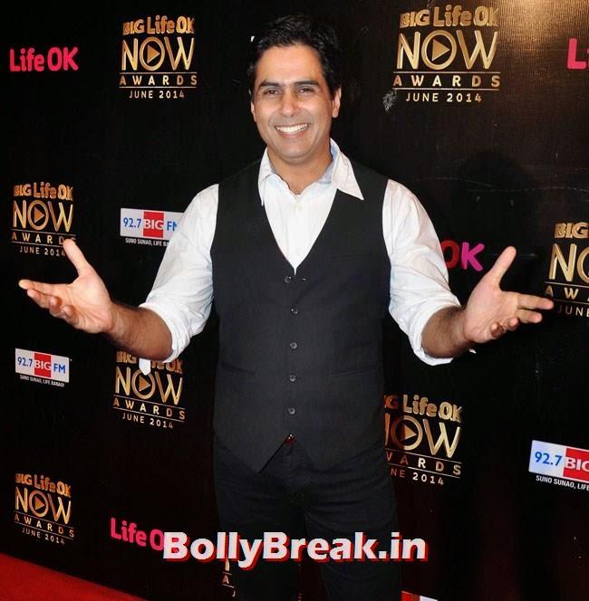 Aman Verma, Life OK Now Awards 2014 Red Carpet Pics