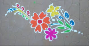 Rangoli Simple Designs For Kids