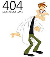 doofenschmirtz 404 not found-inator