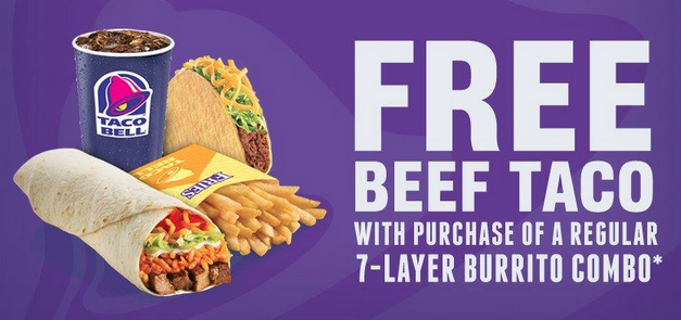 picture about Taco Bell Printable Menu identify Taco bell canada discount codes : Magic hand clean