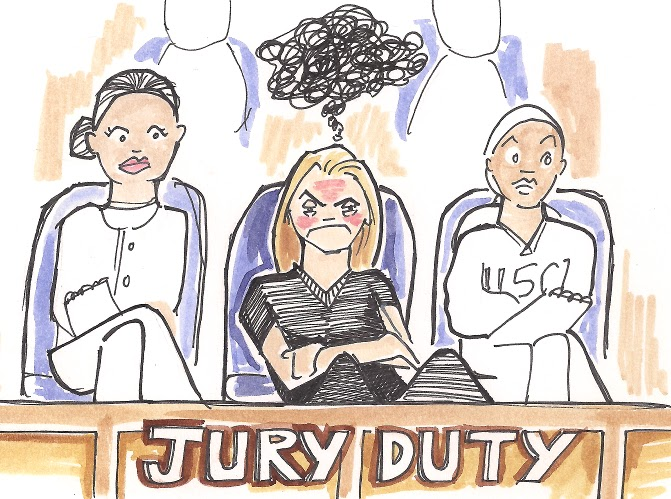 Seize the Absurd: Jury duty was Unexpectedly Cool Part 1