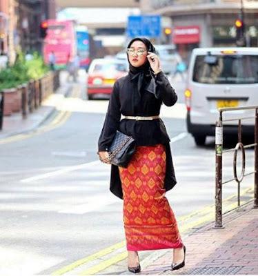 Gambar Model Baju Batik Muslim Modis dan Modern