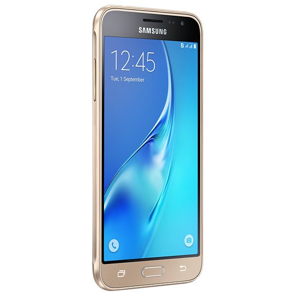 samsung galaxy j3 Front gold 2016