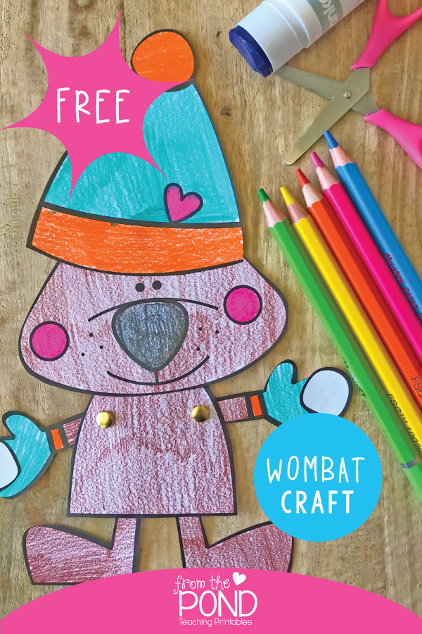 Wombat Craft For Kids