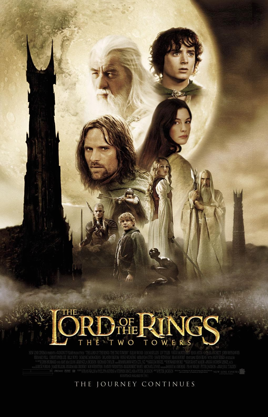 Download Film The Lord of the Rings: The Two Towers (2002) BluRay 720p