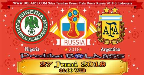 Prediksi Bola855 Nigeria vs Argentina 27 Juni 2018