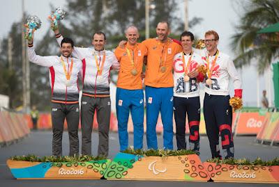 JUEGOS PARALÍMPICOS (Ciclismo en ruta) - Medalla de plata para Ávila-Font y dos diplomas más para España
