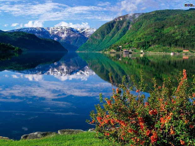 Beautiful Fjord Norway Wallpaper