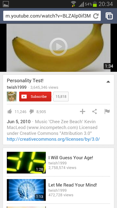 Youtube Mobile Website Gets A Boost: YouTube Tests New Mobile Site UI