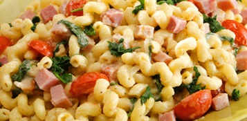 ham and macaroni salad