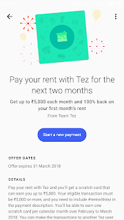Tez app review pay rent and earn free money loot