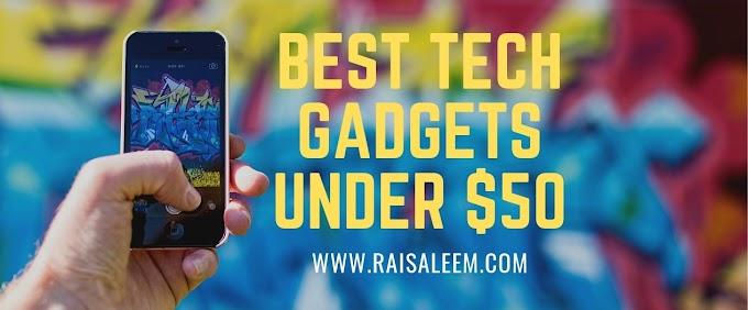 Best Tech Gadgets Under $50 in 2021