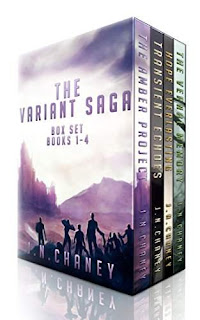 The Variant Saga Box Set - Sci-Fi book promotion service JN Chaney