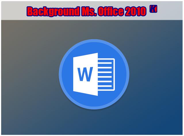 Cara Menambahkan dan Membuat Background Di Lembar Kerja Office Word 2010