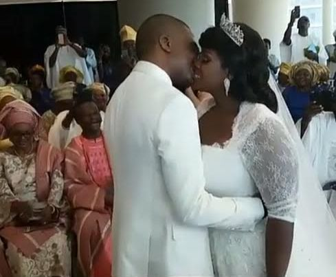 View of Tolu AKA Toolz & Tunde Demuren marriage pictures,