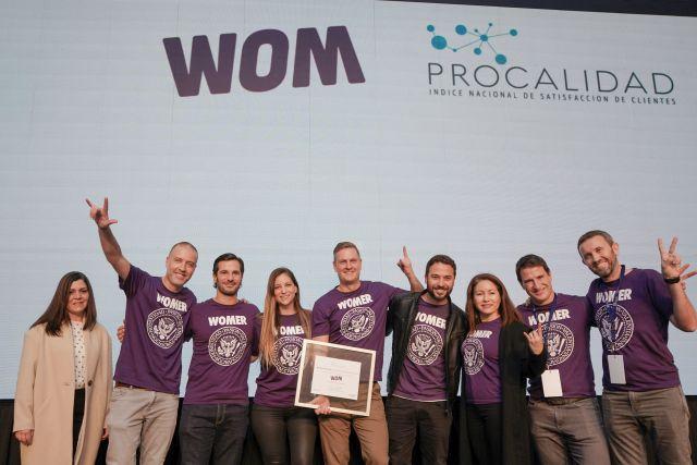 WOM obtiene primer lugar de satisfacción de clientes