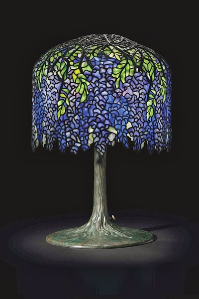 Authentic Tiffany Lamp Expert What Makes Some Tiffany
