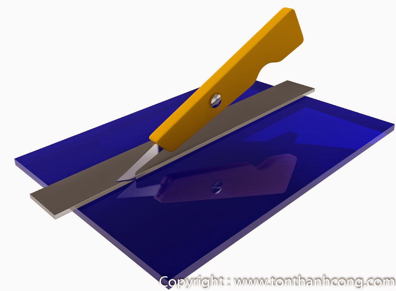 Cắt Mica bằng dao móc