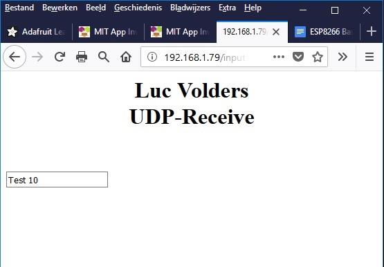 lucstechblog: UDP Communication Part IV Android to ESP
