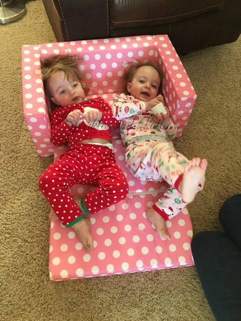 Twins 2nd Christmas