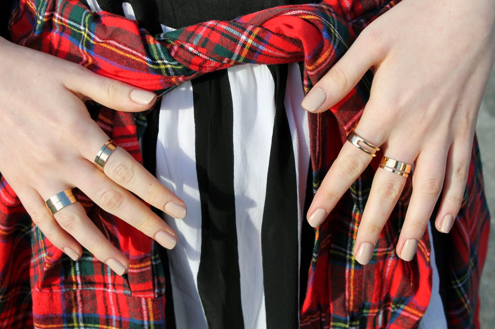 primark rings, gold rings, stack, rings stacked up
