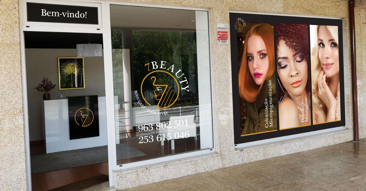 Salão 7Beauty Braga