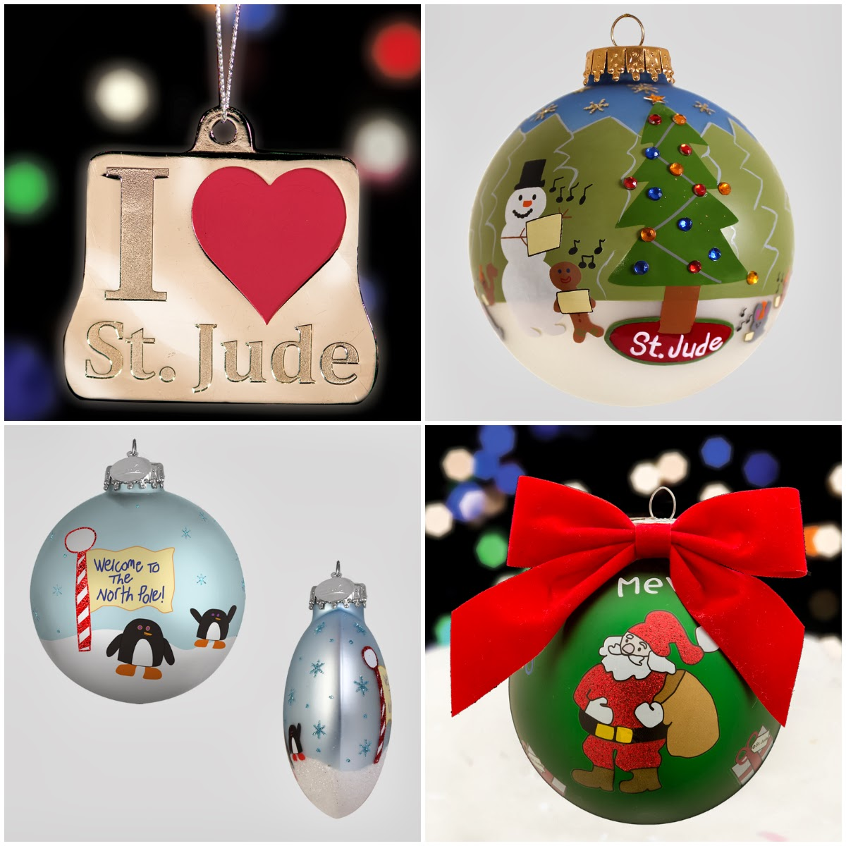 100 Percent Of The Profits, After All Related Expenses, Benefit St Jude  Children's Research Hospital Ornaments  Many Featuring Patient Holiday
