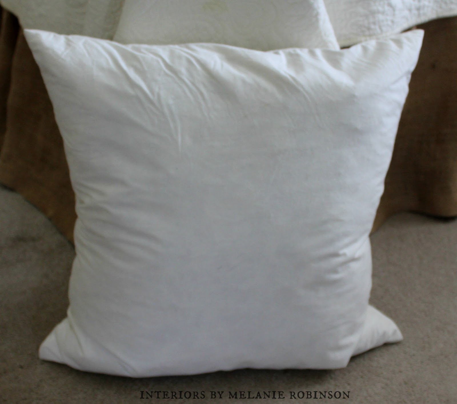 Ipod Pillow How To Make A Throw Pillow With Fringe
