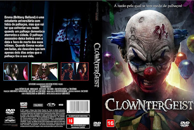 Filme Clowntergeist DVD Capa