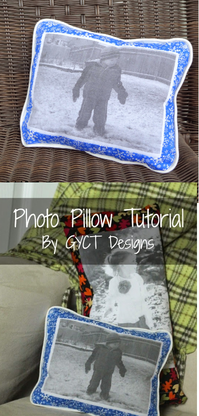 DIY Photo Pillow Tutorial