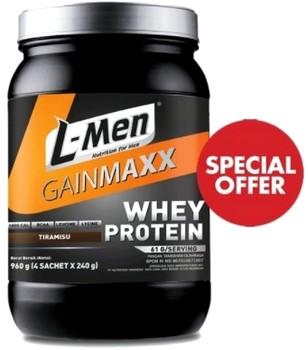 Harga Susu L-Men, Jenis, Fungsi & Manfaat Untuk Menambah Berat Badan
