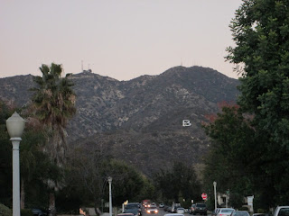 View northeast from Harvard Road toward Verdugo Peak