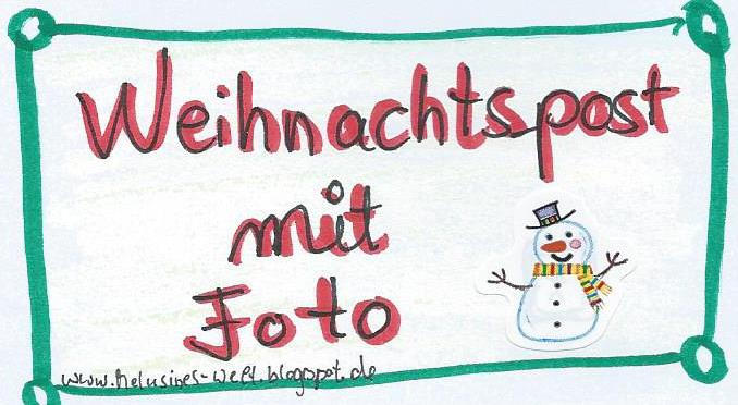 Drei ideen f r weihnachtspost an liebe menschen mit - Bilder weihnachtspost ...