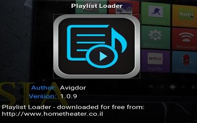 Playlist Loader - Kodi Addon (Live TV) - Kodi IPTV Malaysia