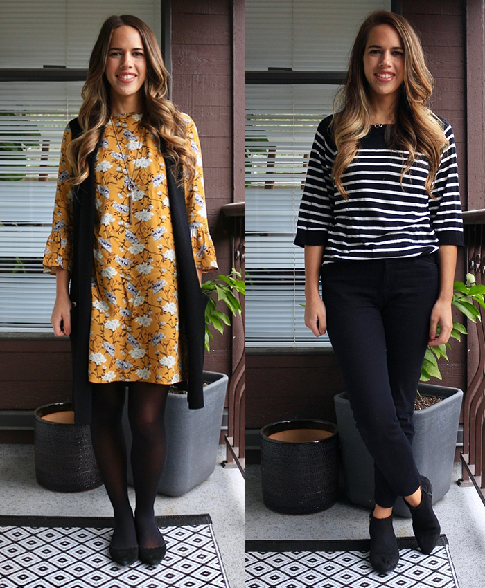 Jules in Flats - November Work Outfits on a Budget