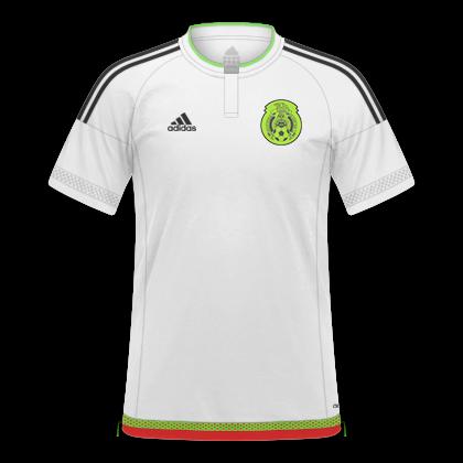 3db1b22873347 GT Camisas  Camisas México 2016   2018 - Home e Away