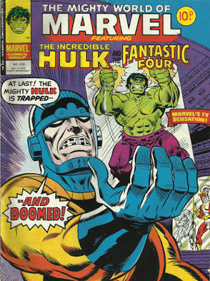 Mighty World of Marvel #319, the Hulk vs the Sentinels
