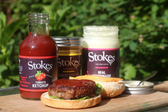 stokes sauces and burger