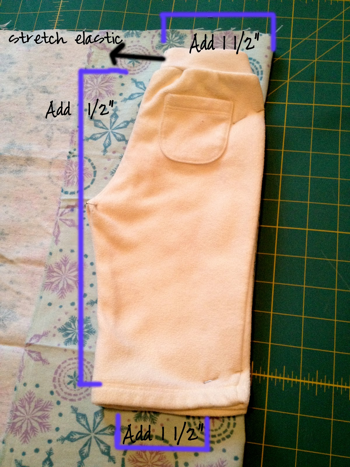 The Copycat Crafter Pajama Pants Make Your Own Pattern