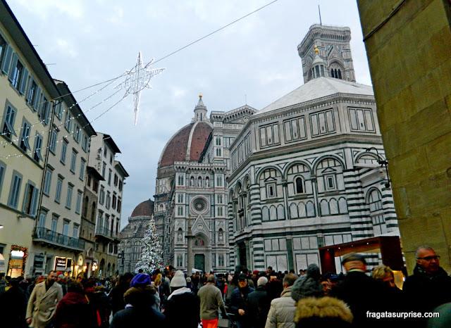 Praça do Duomo, Florença, Itália