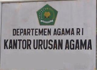 Alamat KUA di Kabupaten Lebong