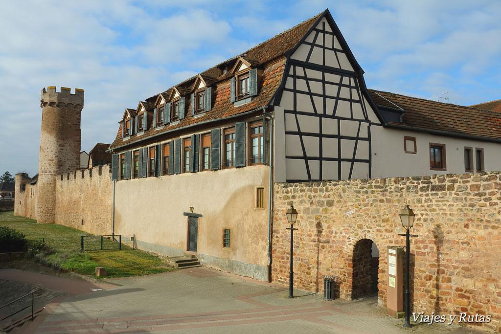 Muralla de Obernai, Alsacia