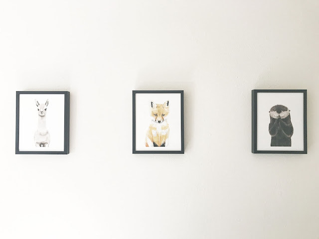 Baby animal prints, Minted.com, Nursery prints, nursery ideas, blogger