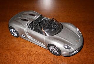 coche a escala porsche 918 spyder