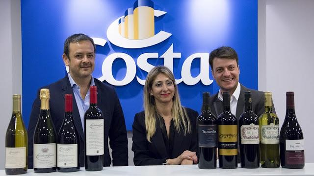 Costa Cruceros lanza el primer crucero para amantes de cocktails y vinos