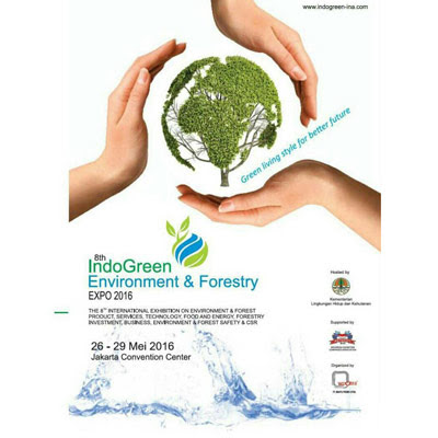 The 8th IndoGreen Environment & Forestry Expo 2016
