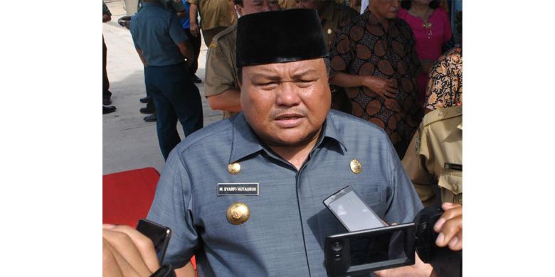 Wali Kota Sibolga Syarfi Hutauruk