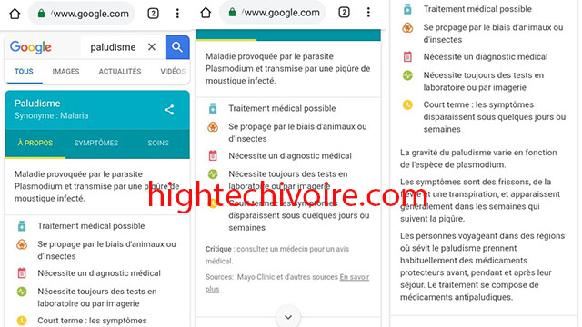 google-avoir-informations-sante