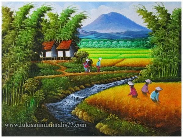 49 Gambar Animasi Sawah Dan Petani Gratis Download Cikimm Com