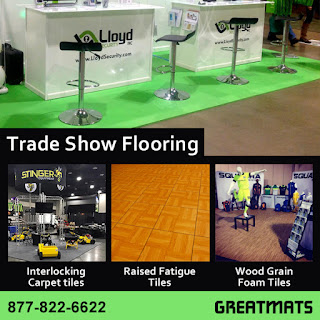 Greatmats trade show flooring
